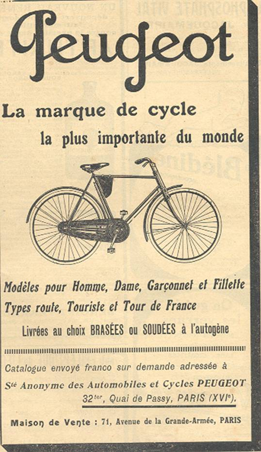 peugeot cycles 3